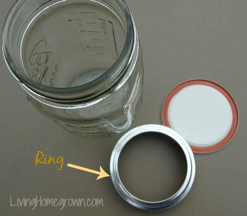 Remove Canning Jar Ring - LivingHomegrown.com