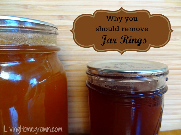 Remove Canning Jar Rings