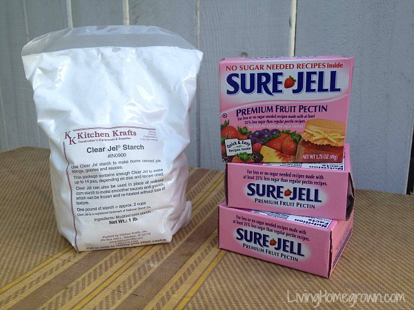 The difference between Clear Jel and Sure Jell - LivingHomegrown.com