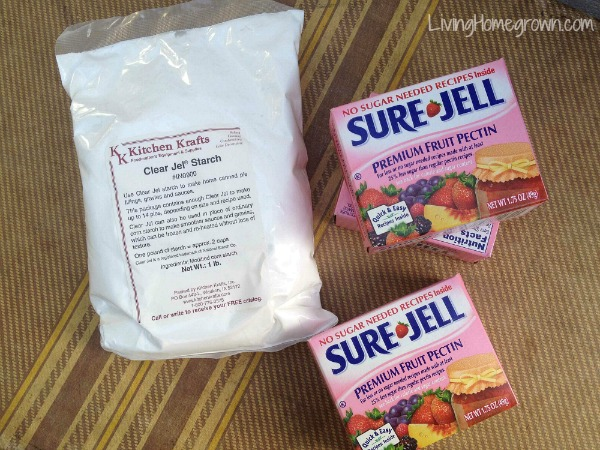 Difference between Clear Jel and Sure Jell - LivingHomegrown.com