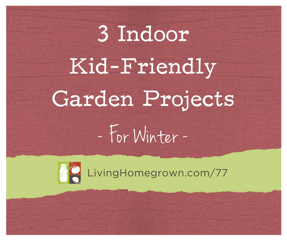 Living homegrown for Indoor gardening during winter