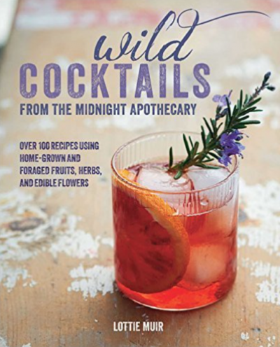 Wild Cocktails book - LivingHomegrown.com