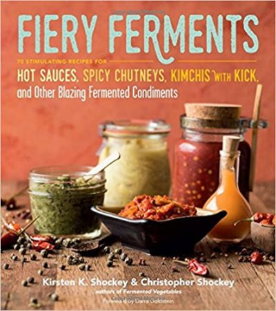 Fiery Ferments Book Cover
