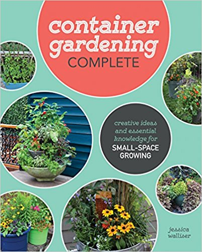 Container Gardening Complete Book Cover at LivingHomegrown.com